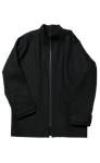 Wool Denim Track Jacket