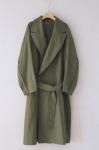 khaki spring coat